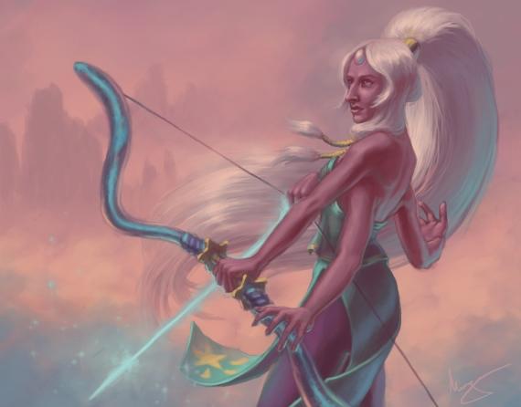 Steven Universe fanart: Opal