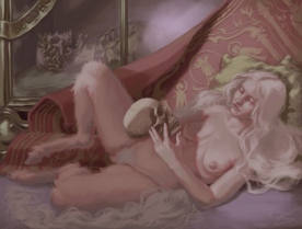 Magdalene_and_Consort_Reclining