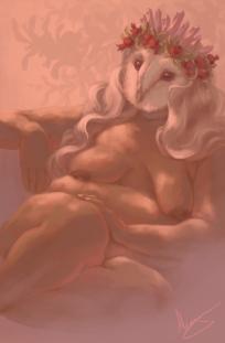 Owl Woman Oracle: Empress card