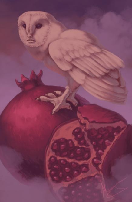 Owl-Woman Oracle: World card
