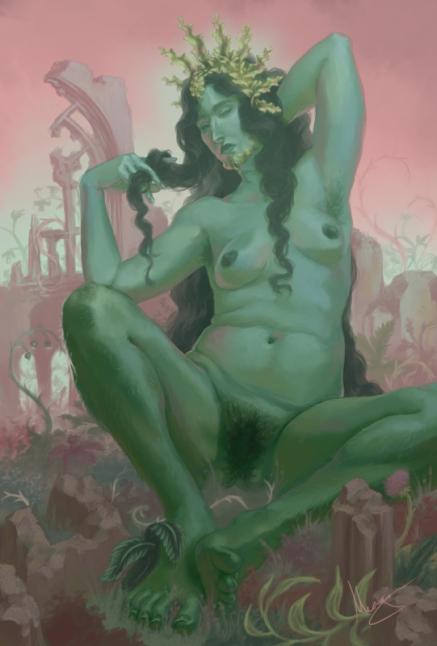 Magdalene in the Garden