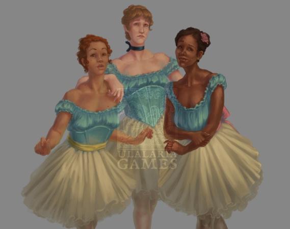 Dancers sprite